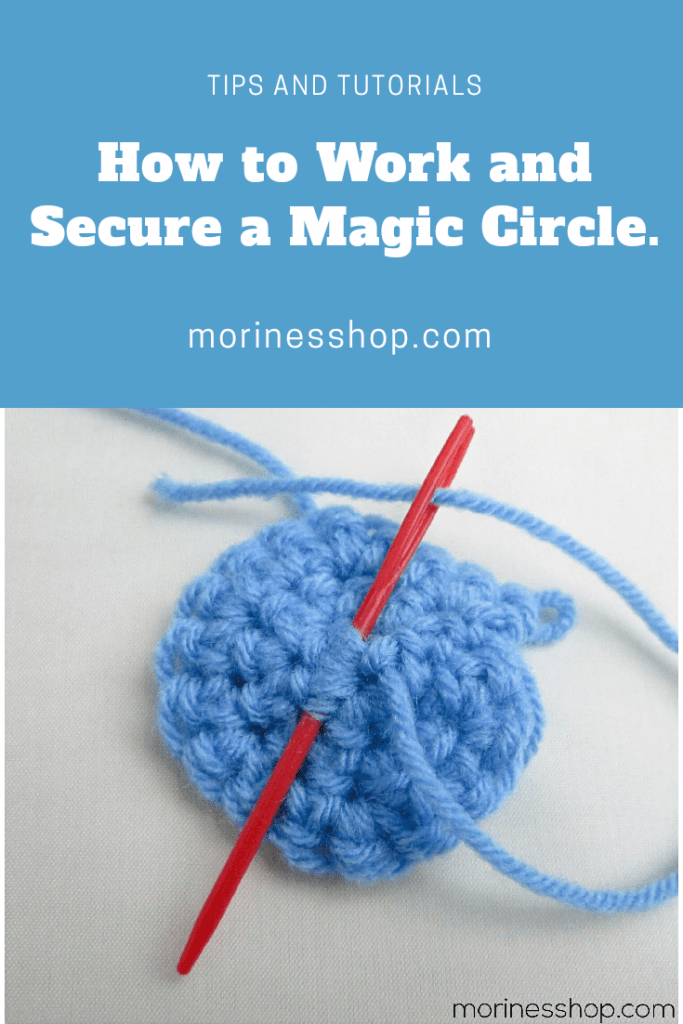 Today's post is a tutorial on how to make and secure the magic circle, an effiecient tecnique, especially when making hats and amigurumi. #MagicCircle #MagicRing #MagicLoop #CrochetMagicRing #CrochetBasics