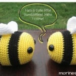 Heimlich the Bee- A Free Crochet Bee Pattern.
