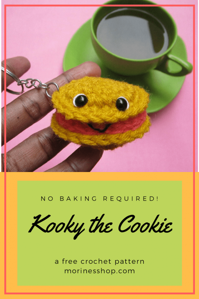 Kooky the Biscuit- A free crochet biscuit pattern