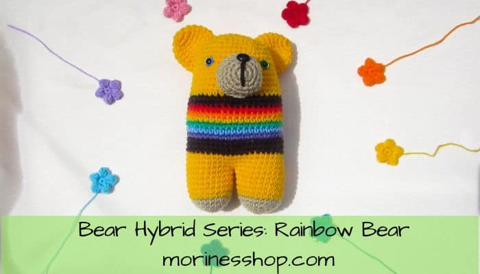 Bear hybrid series: Rainbow Bear by Morine's Shop