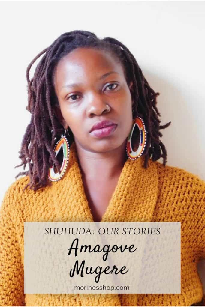 This week on Shuhuda: Our Stories, it's all about Amagove Mugere, who she is, what motivates her and all she hopes to achieve with her brand  #Shuhuda_OurStories #CreativeWorkSpace #IndieDesigner #MakersSupportingMakers #InclusiveMaker