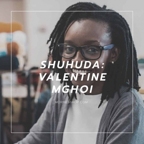 Valentine Mghoi's | Mats by Vee Feature on Shuhuda: Our Stories- Morine's Shop