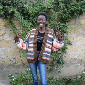 Morine of Morine's Shop, the face behind Shuhuda: Our Stories, a segment featuring African Makers.