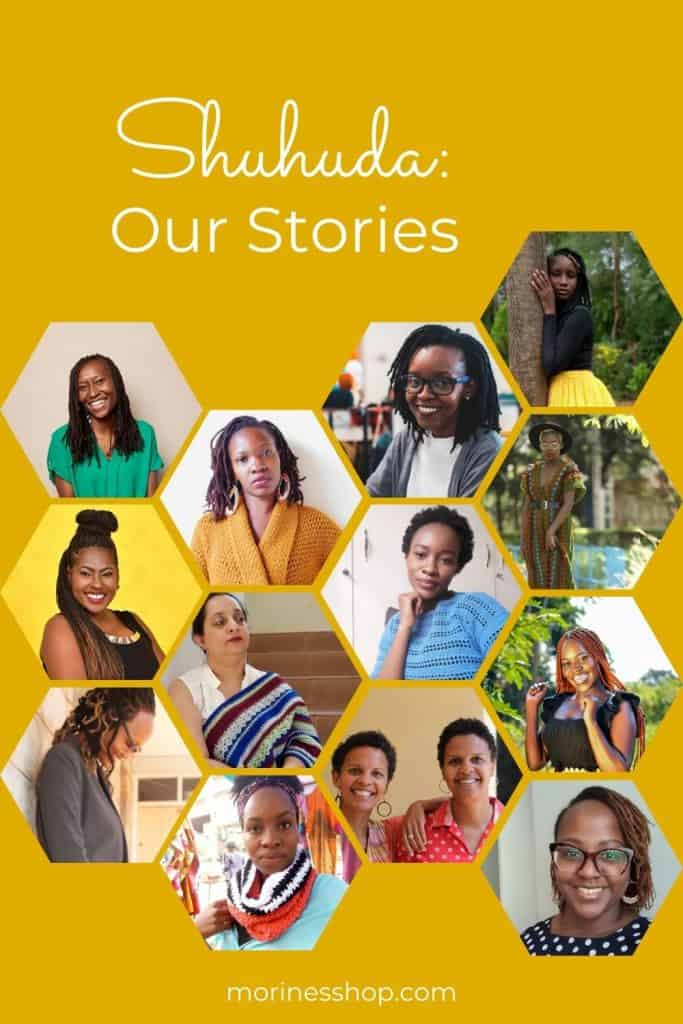 Shuhuda is an interactive segment featuring African artists, their journey and how they have been affected by local and global events #Shuhuda_OurStories #CreativeWorkSpace #IndieDesigner #MakersSupportingMakers #InclusiveMaker
