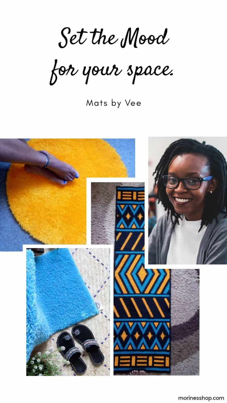 Set the mood for your space with Mats by Vee