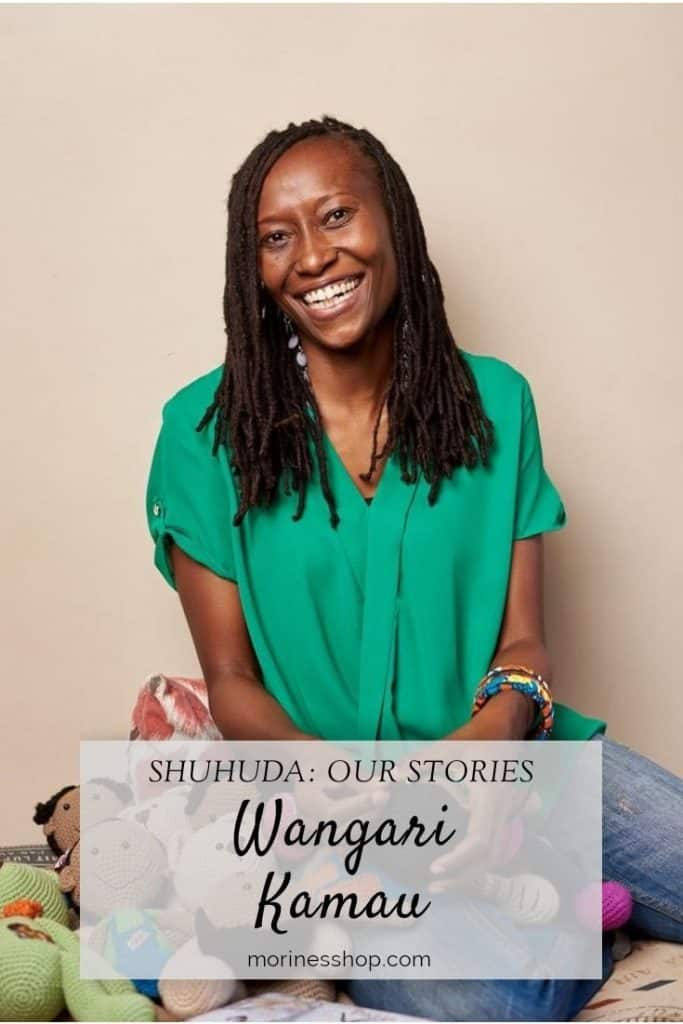 How Wangari Kamau of Umba Creations is using crochet toys to help impart positive messages and values into the lives of children.