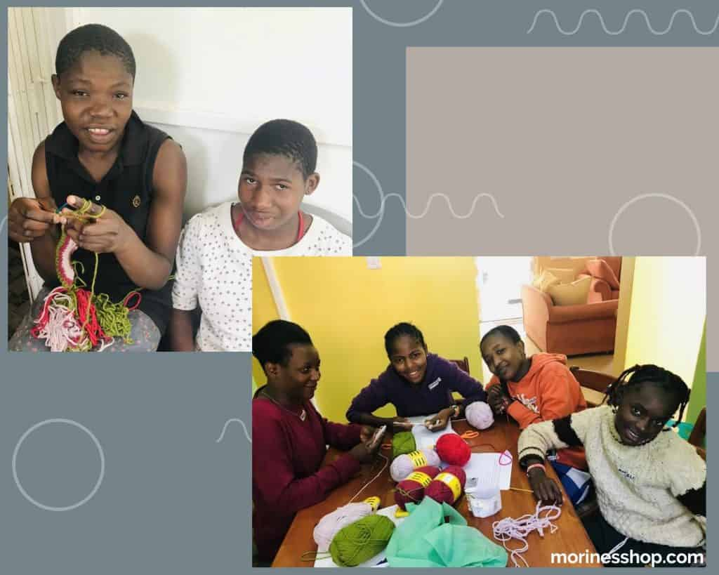 Empowering young girls. Wangari Kamau of Umba Creations.