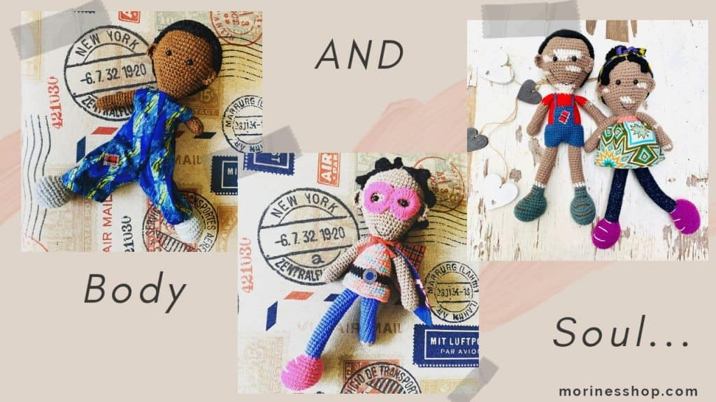 Range of marvellously made dolls by Umba Creations.