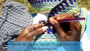 When you express yourself honestly through whatever medium you choose, you understand yourself & become better equipped to deal with your emotions. #SelfExpression #SelfLove #LifeBalance #CrochetLife #CrochetDesigner