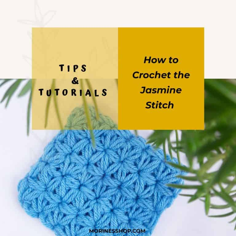 How to Crochet the Jasmine Stitch