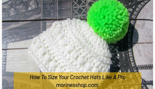 Learn how to size your crochet hat based on your tension so they fit no matter the hook or yarn size you're working with. #CrochetHatSizing #CrochetBeanieSizing #CrochetBeanie #CrochetHat #CrochetFreePrintable