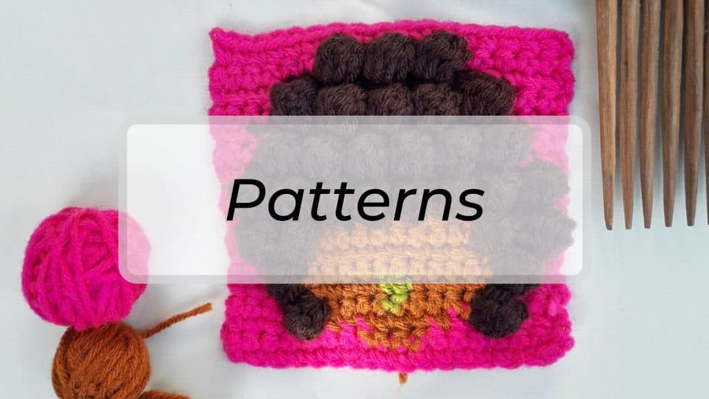 Crochet patterns in Morine's Shop