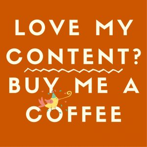 Love my content? Support me by buying me a coffee.