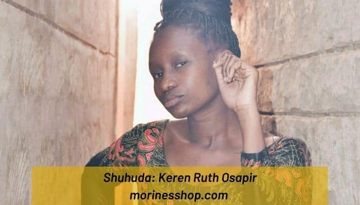 Meet Keren Ruth Osapir, the founder of Ogfra Knits, a handmade Kenyan based design company that provides yarn garments and house accessories. #Shuhuda_OurStories #Ogfra_Knits #CrochetFashion #SustainableFashion #Sustainable