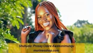 Meet Prossy Claire Awekonimungu, the founder of The Kleah Collection, a Ugandan based online store that deals in a variety of crochet items #TheKleahCollection #Shuhuda_OurStories #Sustainable #CrochetDress #AfricanCrochet