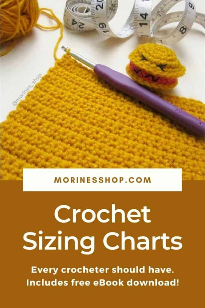 Crochet size charts are a handy thing to have. We'll cover blanket sizing, abbreviations, US/UK conversions and more in this quick guide #SizeChart #CrochetHookSize #CrochetBlanket #CrochetHatSize #CrochetAbbreviations