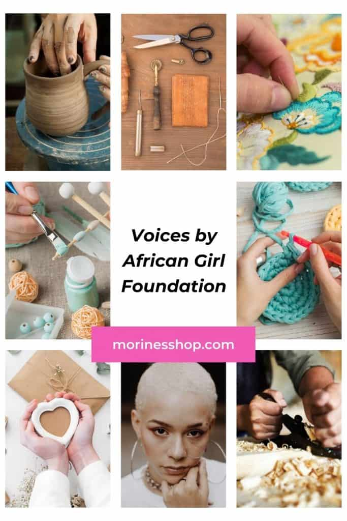 Voices by AGF is an online menstrual health campaign with the aim of normalizing conversations around periods #Craftivism #EndPeriodPoverty #PeriodPositive #WomensHealth #MenstruationMatters